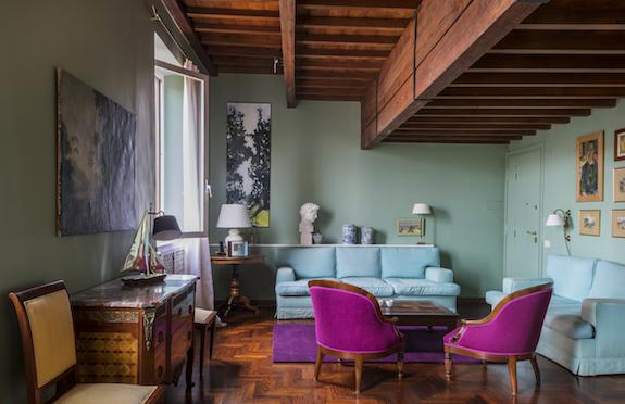 Sitting room, Via della Scala