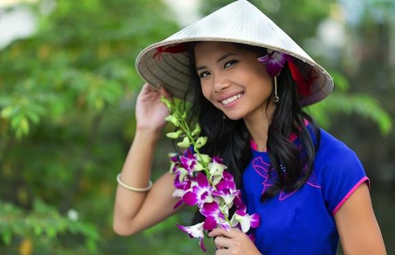 Vietnamese girl, Vietnam