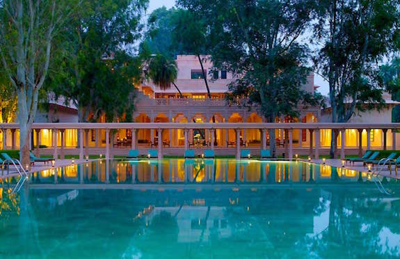 Pool, Amanbagh, Rajasthan