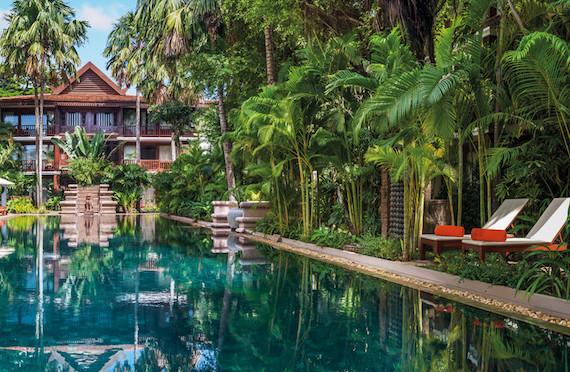 Pool, Belmond La Residence d'Angkor, Siem Reap