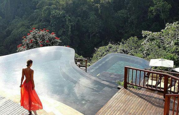 Pool, Hanging Gardens of Bali, Ubud