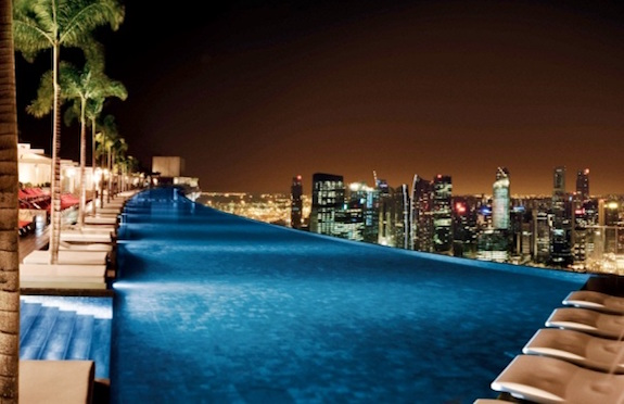 Pool, Marina Bay Sands, Singapore