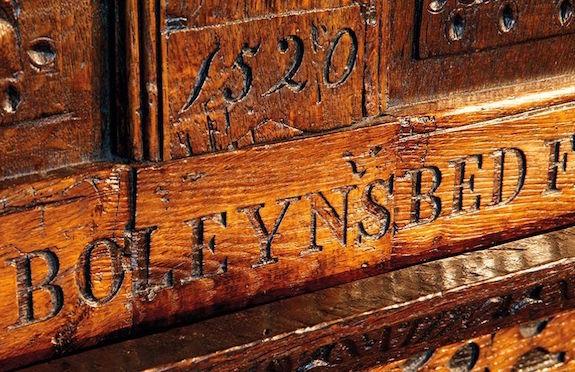 Anne Boleyn's bedroom, Hever Castle