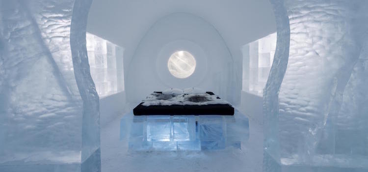 Bedroom, IceHotel 365