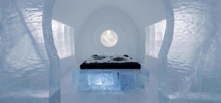 Bedroom, IceHotel 365