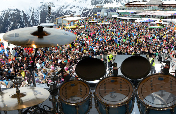Top of the Mountain concert in Ishgl
