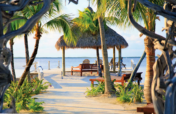 Beach, Largo Resort, Florida Keys