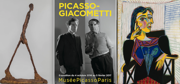 Picasso-Giacometti Exhibition, Musee national Picasso, Paris