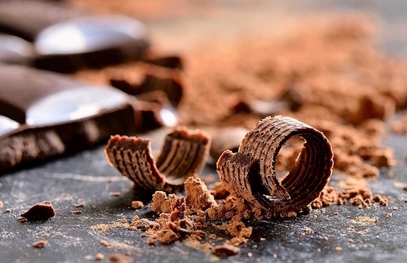 Chocolate at the Rosa Alpina