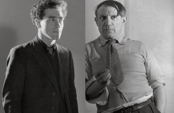 Alberto Giacometti and Pablo Picasso