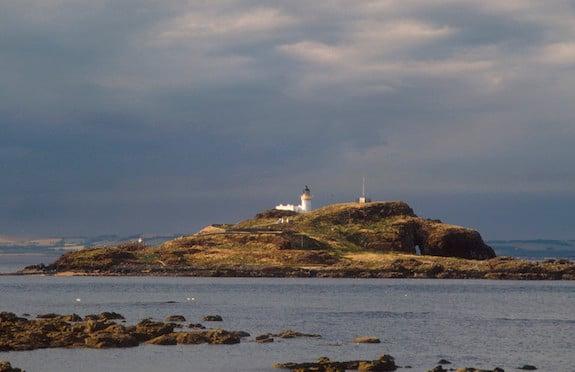Fidra Island from Yellocraig Beach near North Berwick, East Lothian, VisitScotland