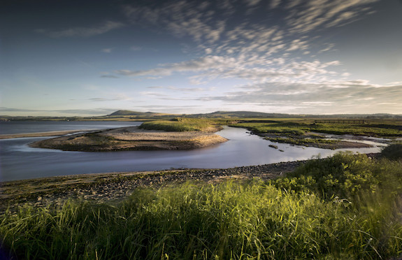 The view towards Largo and Largo Law from Largo Bay, East Neuk of Fife, VisitScotland
