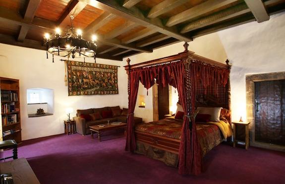 Bedroom, Castle Levan, nr Glasgow