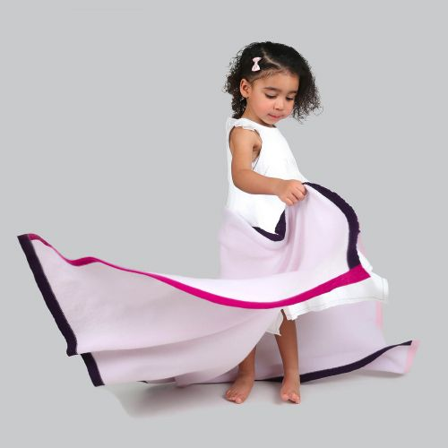 Childrens Fairy Dust Pink Cashmere wrap